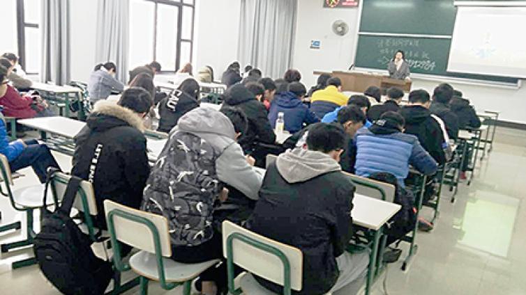 泽稷教育·上海海事大学CPA就业规划讲座顺利进行