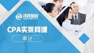 2018CPA實景網課——審計