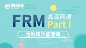FRM Part I 高清网课