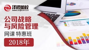 CPA公司战略与风险管理网课 特惠班