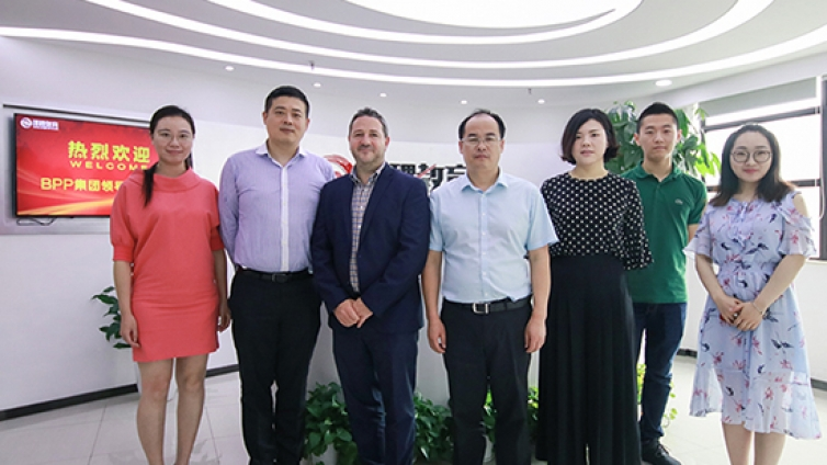 BPP集团国际项目总监Barry Hall-Raine、BPP大学华东市场总监刘尚军一行来访泽稷教育