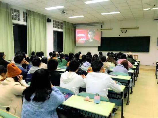 泽稷教育·祝贺南京晓庄学院ACCA讲座举办成功