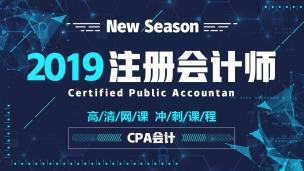 2019CPA冲刺串讲课——会计