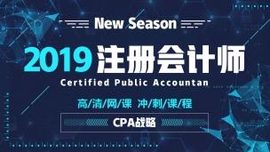 2019CPA冲刺串讲课——公司战略与风险管理