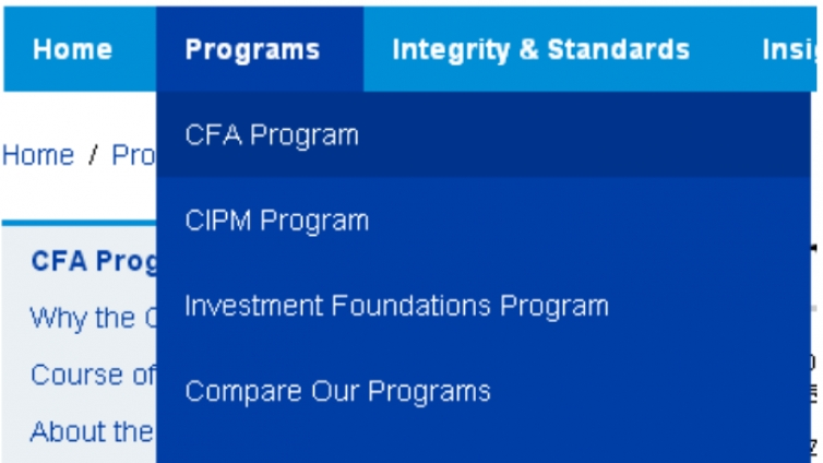 如何进行CFA考试考点更改?