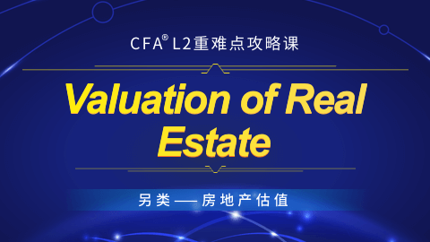 Valuation of Real Estate